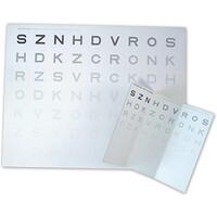 Κάρτα Οπτομετρίας Ευαισθησίας Αντίθεσης - Κοντινής Όρασης