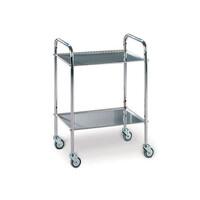 Τροχήλατο Νοσηλείας Ανοξείδωτο LANCART 60x40cm