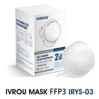 Μάσκα IVROU FFP3 - Απόλυτη Προστασία - Πιστοποιημένη | 5 τμχ