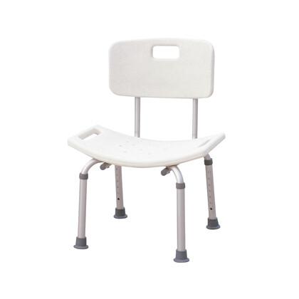 Καρέκλα μπάνιου με πλάτη AC-382