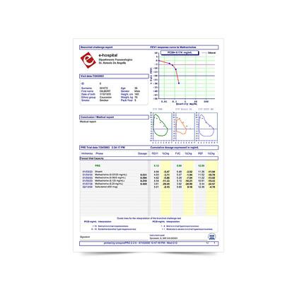 Σπιρόμετρο Spirolab® Mir