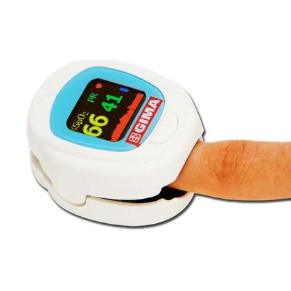 Οξύμετρο δακτύλου παιδιατρικό, GIMA OXY-PED