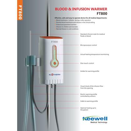 Συσκευή Θέρμανσης Αίματος FT800
