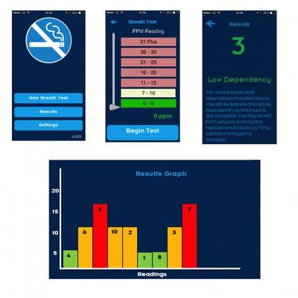 Μετρητής Μονοξειδίου του Άνθρακα iCO Smokerlyzer