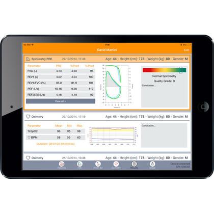 Σπιρόμετρο MIR Spirobank II Smart