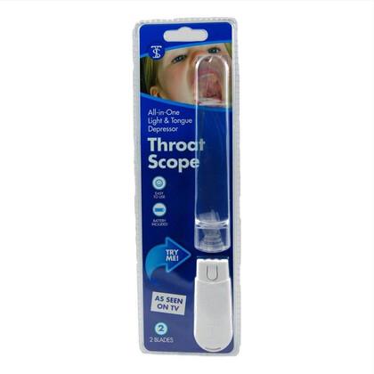 Φωτιζόμενα Γλωσσοπίεστρα Throat Scope