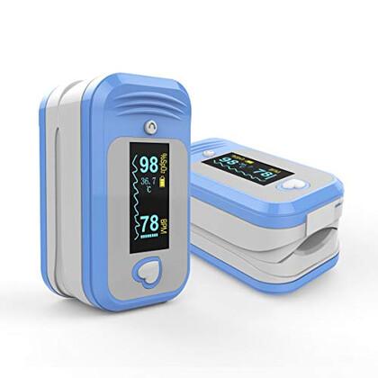 Οξύμετρο Δακτύλου Bluetooth με Αισθητήρα Θερμοκρασίας ΑΜ-806Β MedLinket