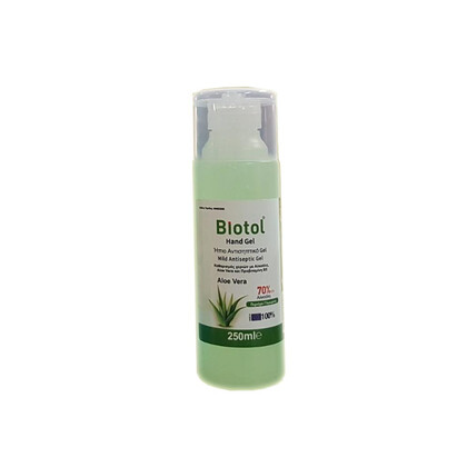 Αντισηπτικό Gel Χεριών Biotol 250ml με Aloe Vera