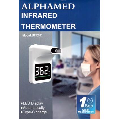 Θερμόμετρο Τοίχου Ανέπαφης Μέτρησης ALPHAMED UFR-101