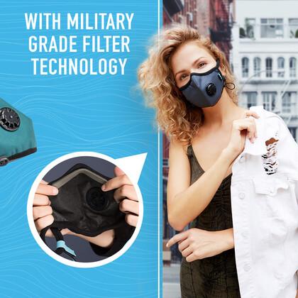 Μάσκα Cambridge Mask PRO με Φίλτρο Στρατιωτικών Προδιαγραφών