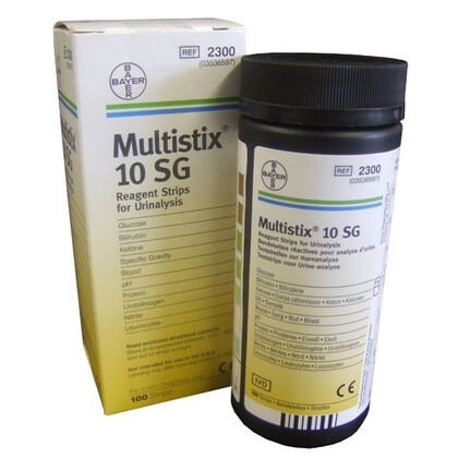 Ταινίες/Αντιδραστήρια ανάλυσης ούρων Multistix